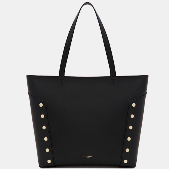 b38015bdb TAMIKO Studded edge leather shopper bag. M 5a5a97ce72ea88651ceb7779